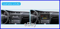 1 Din Autoradio Android 9.0 Car Stereo Audio GPS Navigation 4G+64G AUX WIFI MAP