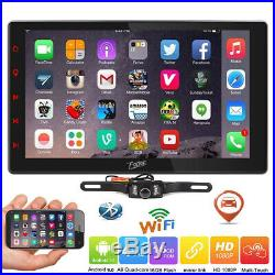 10.1Smart Android 9.0 4G WiFi Double DIN Car Autoradio Stereo Player GPS+Camera