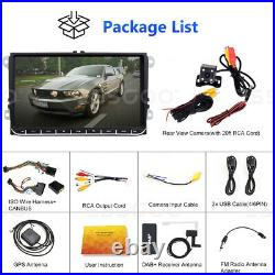 2 DIN 9 AUTORADIO Android GPS NAVI DAB+ Box For VW GOLF 5 Variant Passat Touran