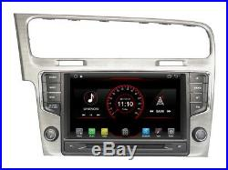 8 Android 9.0 Vw Golf 7 Voiture Car Radio Wifi Gps DVD Automovil Quad Core 2gb