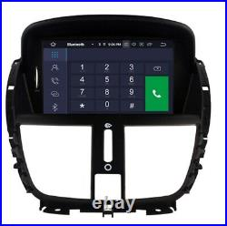 8 Hd Android 10.0 Peugeot 207/207cc 2007-2014 Voiture Auto DVD Gps 2gb Ram Car