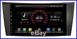ANDROID 10 MERCEDES E-CLASS W211(2002-08)G-Class W463(2001-08)CLS W219(2004-11)