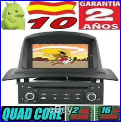 Android 10 Renault Megane 2 II (2002-2008) Voiture Radio 7 Gps Car Sd Wifi 3g