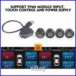 Android 9.0 1Din Autoradio GPS OBD DVD WiFi DAB+ TNT 4G TPMS Bluetooth RDS SD 4G