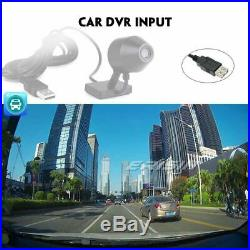 Android 9.0 Double DIN Autoradio Tactile GPS TNT DVD Bluetooth OBD2 USB WiFi SD