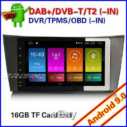 Android 9.0 GPS Autoradio Mercedes Benz E/CLS/G class W211 W219 W463 DAB+ Canbus