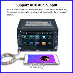 Autoradio 6.2 Dual Core 2 DIN Android 6.0 HD Lettore DVD GPS navigation BT WIFI