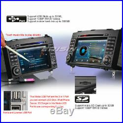 Autoradio DVD GPS Navi TNT DVR Bluetooth MP3 USB Mercedes W245 W169 Viano Vito