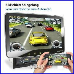 Autoradio avec Android 9 XOMAX GPS USB Bluetooth Mp3 10inch tactile Dvd Cd Mpeg4