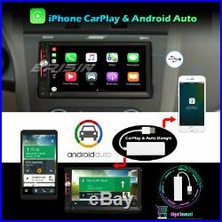 DSP Android 10.0 2Din Autoradio GPS Bluetooth DAB+ WiFi TPMS TNT CarPlay 4G OBD2