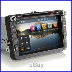 GPS 8 Pouces Android 8.1 DVD 3G WiFi TV TNT Volkswagen Golf, Tiguan, Scirocco