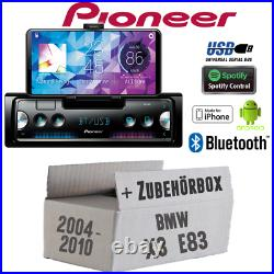 Pioneer Autoradio Pour BMW X3 E83 Bluetooth USB Spotify Android IPHONE Montage