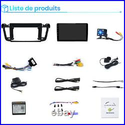 Pour Peugeot 508 2011-2018 Autoradio Android 10.0 GPS Navigator WIFI DAB+DSP RDS