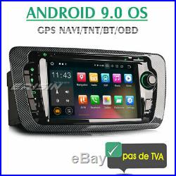 Seat Ibiza 2009-2013 Android 9.0 Autoradio Tactile TNT GPS DAB+ OBD2 Canbus TPMS